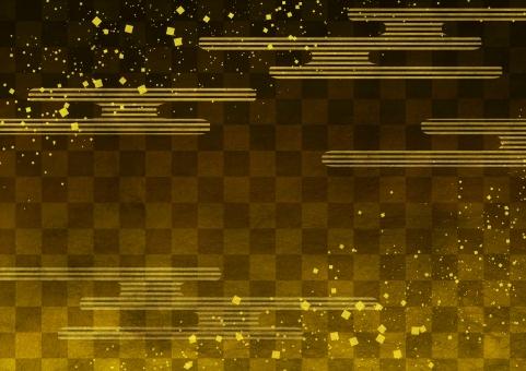 かすみ市松 黄金の写真