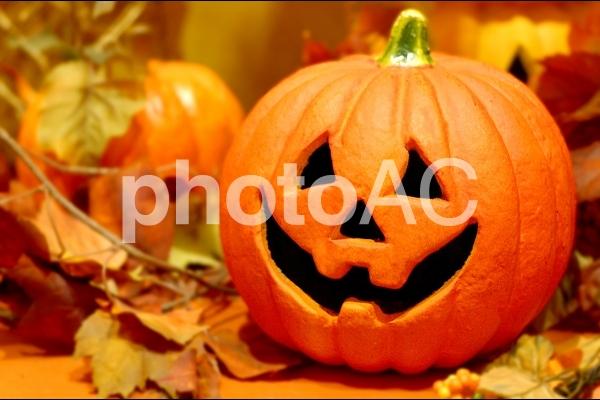 ハロウィンかぼちゃの写真