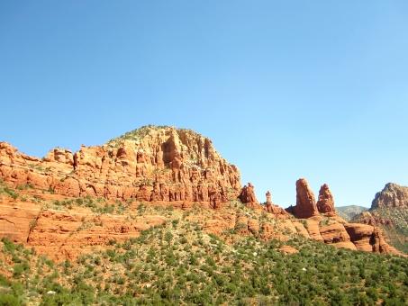 空 自然 セドナ 大地 パワースポット 植物 アリゾナ アメリカ