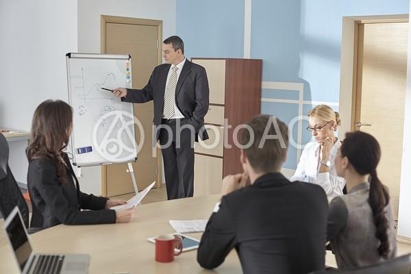 外国人ビジネスマン377の写真