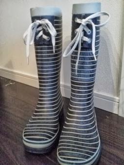 ながぐつ 長靴 ガーデニング にわいじり 庭 がーでにんぐ 青 雑貨 クツ くつ