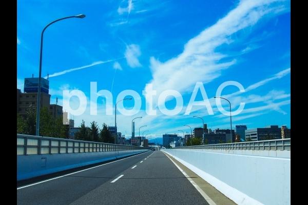 ドライブ 高速道路の写真