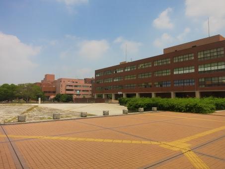 校舎 広場 筑波大学 国立大学 茨城 つくば 大学 研究 受験 入試 空 合格 15 校舎