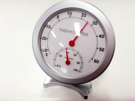 温度計 湿度計 温度 湿度 メーター 測り 温湿度計 温度計付湿度計 アナログ 100均一 100円 ダイソー 卓上 小型 体調管理 空調管理 風邪対策 風邪予防 ヘルス 健康 美容 乾燥 保湿 保温 インフルエンザ