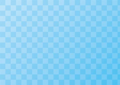 市松模様 伝統模様 背景 和柄 和風 壁紙 テクスチャ グラデーション チェック柄 チェッカーフラッグ 青 水色 ブルー