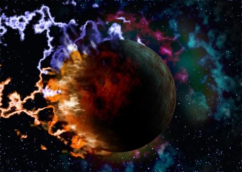 スパーク 爆発 星 天体 star 光 光彩 カラフル 電撃 背景 背景素材 バック バックグラウンド background テンプレート イメージ CG 怒り エナジー エネルギー エネルギッシュ 電磁波 電気 プラズマ