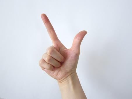 手 ハンド パーツ hand 人差し指 人さし指 人指し指 親指 ポイント ひらめき ヒラメキ 重要 指 ビジネス 右手 人物