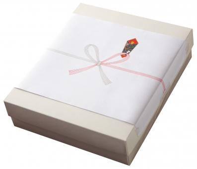 のしのついた箱(透過PSD)の写真