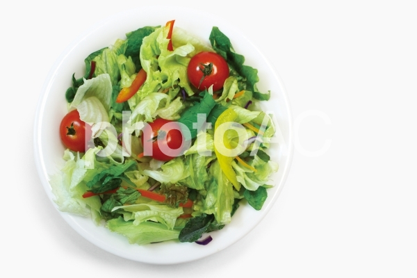 サラダ俯瞰(キリヌキパスあり)の写真