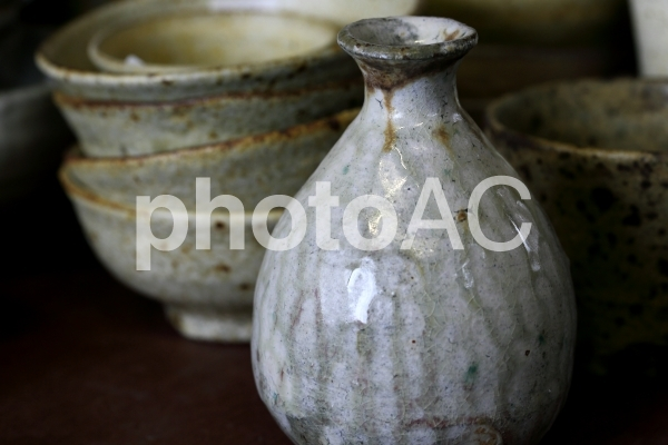 徳利・陶器・陶芸の写真