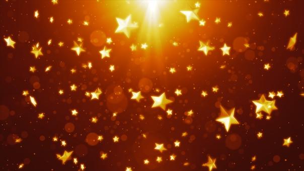 クリスマス 背景 星 背景素材の写真
