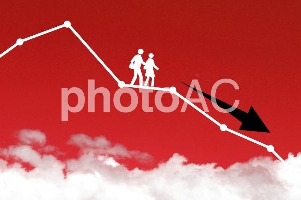 ライフチャート6 暴落危機の写真