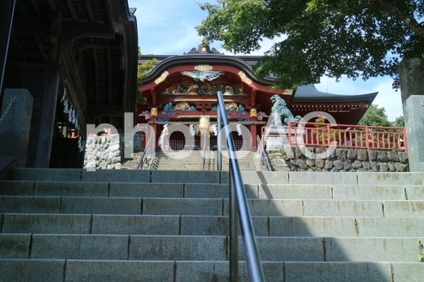 御岳神社本堂の写真