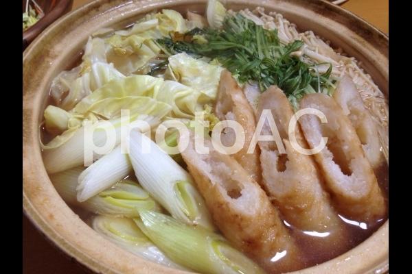 家庭料理 郷土料理 きりたんぽ鍋の写真