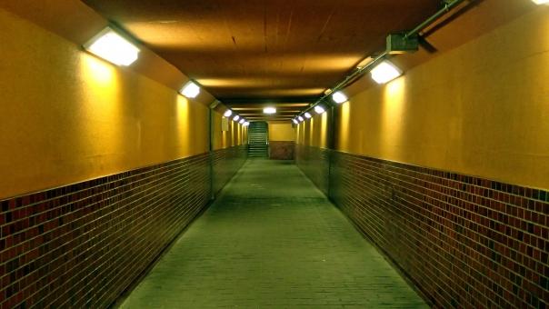 地下歩道の写真