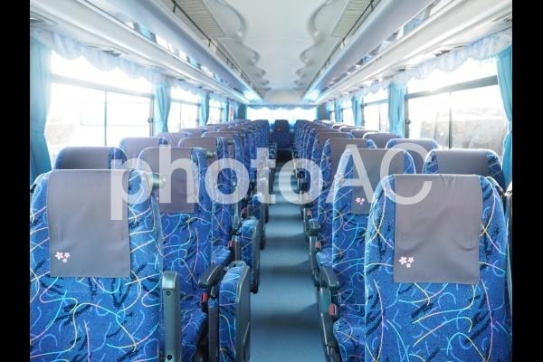 観光バスの座席1の写真