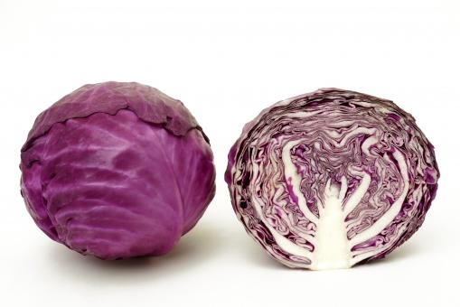 紫キャベツ レッドキャベツ 赤キャベツ キャベツ 野菜 ベジタブル アントシアニン 抗酸化作用 ポリフェノール ビタミンc ビタミン 食物繊維 サラダ 赤 紫 美容 健康 がん予防