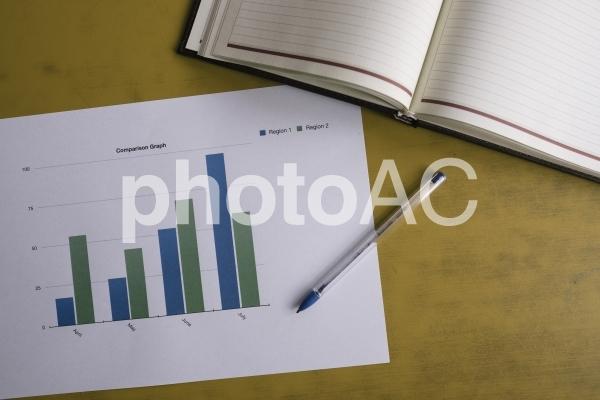 チャートグラフ・棒グラフ27の写真