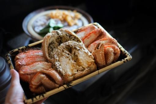毛ガニ けがに ケガニ 毛蟹 カニ かに 蟹 鍋 なべ ナベ 冬 料理