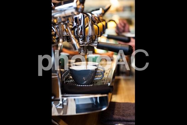 コーヒーマシンの写真