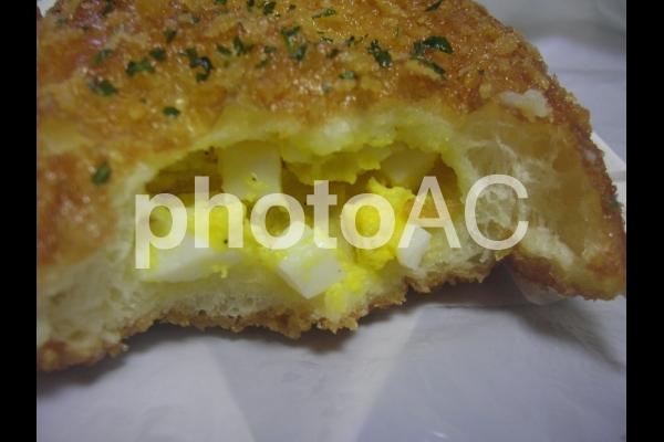 たまごパン(中身)の写真