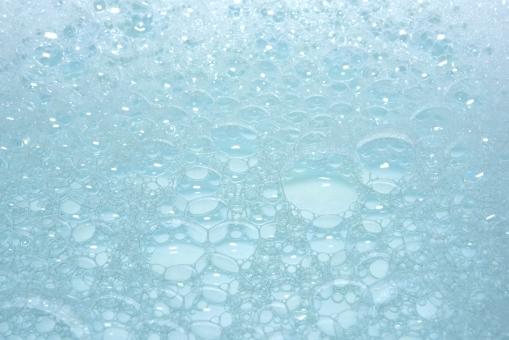 泡 シャボン 薄膜 洗剤 泡立ち 背景素材 背景 テクスチャー 青