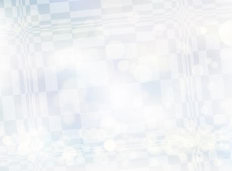 冬にお勧めキラキラ光り幾何学模様背景素材スノーホワイトの写真