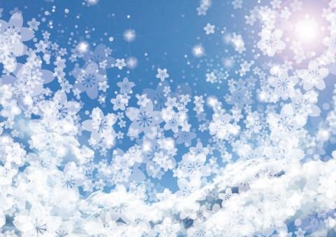 ファンタジー わくわく 夢 さくら 桜 ブルー ワクワク キラキラ 青 きらきら グラデーション 背景 クリスマス バレンタイン 空 メルヘン 春 冬 8月 2月 11月 12月 テクスチャー テクスチャ 女性 かわいい カワイイ 華やか ビジネス ポスター