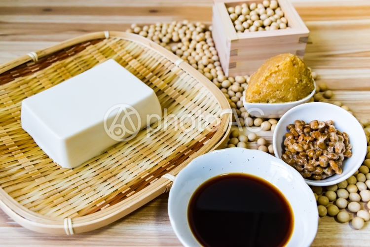 大豆製品の写真