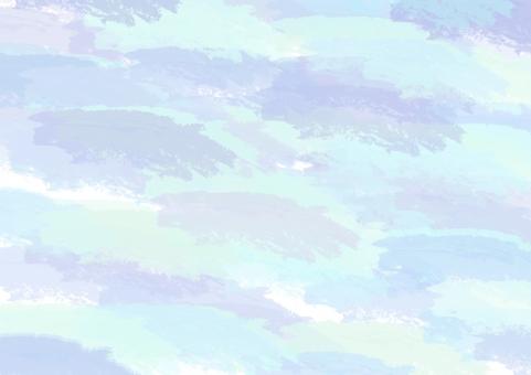 水彩 用紙 水彩画 紙 クラフト 素材 背景 バック テクスチャ テクスチャー 寒色 水色 青 パープル むらさき 紫 ブルー パステル アクリル 絵の具 筆