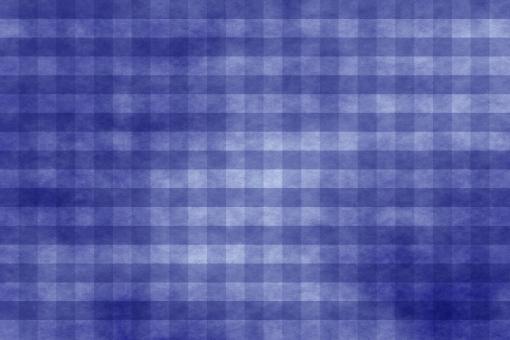 和紙 色紙 台紙 紙 ちぢれ ゴワゴワ テクスチャー 背景 背景画像 ファイバー 繊維 チェック ギンガムチェック 格子 格子模様 青 群青 紺色 藍 ブルー ウルトラマリン