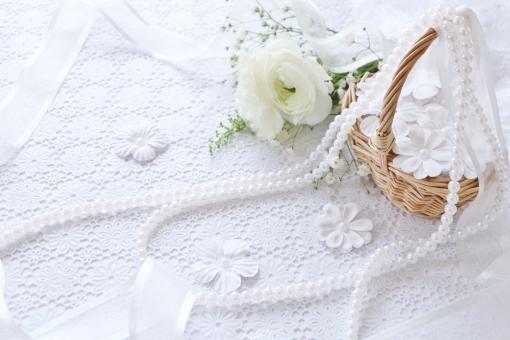 幸せの花かご ウェディング イメージの写真