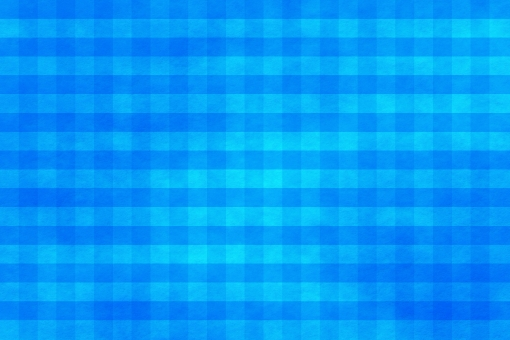 和紙 色紙 台紙 紙 ちぢれ ゴワゴワ テクスチャー 背景 背景画像 ファイバー 繊維 チェック ギンガムチェック 格子 格子模様 青 水 水色 ブルー セルリアンブルー ライトブルー スカイブルー 空色 マリンブルー