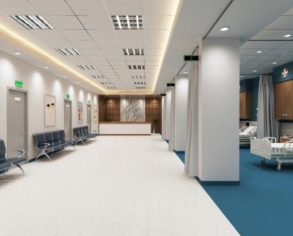 病院内の風景11の写真