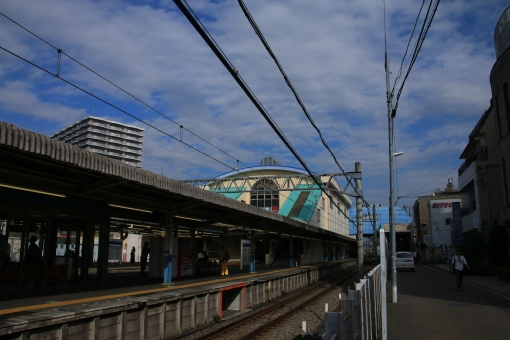 田無駅プラットホーム 田無駅 プラットホーム 駅 西武新宿線 西武線 西武 西東京市