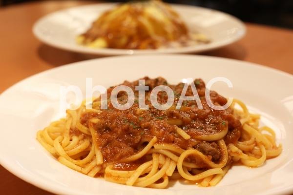 スパゲッティミートソースの写真