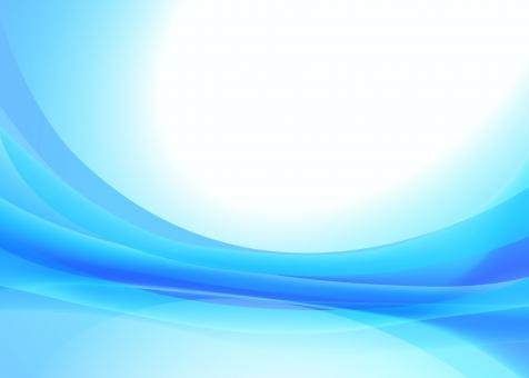 青のウェーブグラデーション背景素材テクスチャの写真