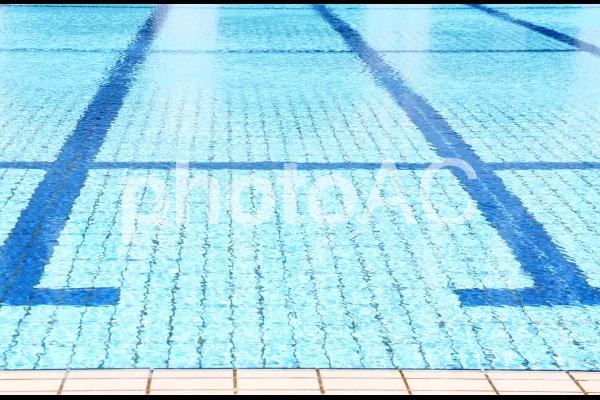 プールサイドの写真
