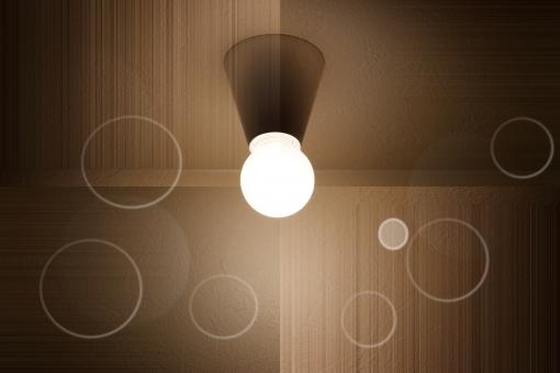 電球 ライト 照明 灯り 明かり 白熱電球 間接照明 エコ エコロジー 節電 電力 電気 ひかり 光 茶色 茶 背景 背景素材 バックグラウンド 電力自由化 省エネ 照明器具 LED 白熱灯 ブラウン リラックス リラクゼーション