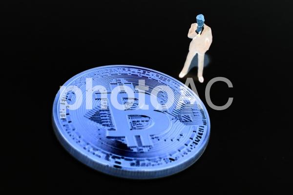 危ないビットコインの写真