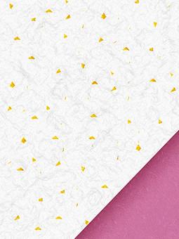 和紙 テクスチャ テクスチャー 壁紙 背景 背景素材 紙 ペーパー 和風素材 和風 前面 一面 日本 和 バックグラウンド コピースペース テキストスペース クラフト パターン 工芸 伝統 模様 画材 手すき 金箔 繊維 白 ホワイト 金 斜め 三角 ツートン ツートーン バイカラー フレーム 枠 ピンク 赤紫