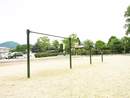 鉄ぼう 木 遊具 運動 体育 校庭 園庭 庭 公園 砂場 真壁 伝承館 茨城 15