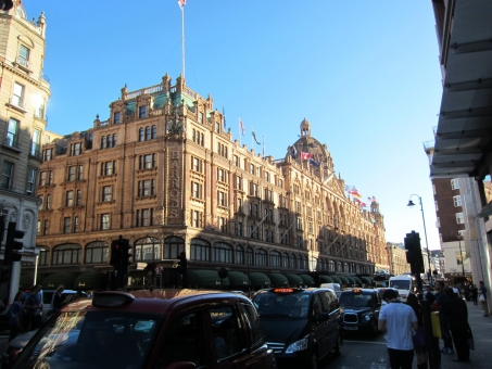 ハロッズ ロンドン london 観光 イギリス england