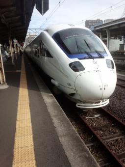 かもめの列車の写真