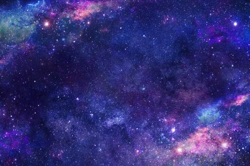 銀河の夜の写真