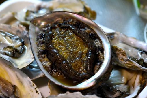 鮑 あわび アワビ 刺身 ソテー 海産物 おいしい 貝 生 フレッシュ 新鮮 とれたて