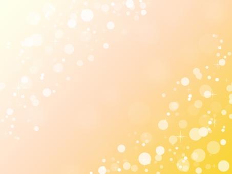 背景素材 バックイメージ 泡 バブル 粒 ツブツブ まる 白 ホワイト ぶくぶく web postcard シンプル ひかり 模様 正面 ポスター グラフィック 柄 デザイン 紙 素材 絵 丸 円 ライト グラデーション 淡い バック バックグラウンド テクスチャ テクスチャー キラキラ きらきら 光 輝き 煌めき きらめき ファンタジック ぼんやり イメージ 雰囲気 明るい 眩い まばゆい ロマンチック キュート 可愛い ポップ 朗らか パステル パステルカラー ファンタジー 幻想 幻想的 抽象的 ポストカード 壁紙 穏やか 背景 背景イメージ 透明感 オレンジ オレンジ色 朱色 暖色 暖かい 黄色 イエロー 黄