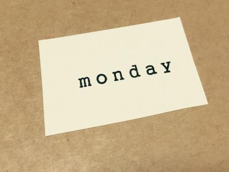 stamp スタンプ アルファベット 文字 英語 英字 壁 メッセージ メモ 紙 背景 素材 背景素材 壁紙 サイン 曜日 ウィーク ウィークデー 月曜日 月曜 月 monday mon 平日