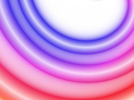 半円 ぐにゃり 曲がる 曲がってる 輪 輪っか ネオン ライン 線 青 紫 赤 グラデーション 白 ホワイト カラー 色 派手 はで 賑やか カラフル 三色 四色 背景 テクスチャ 壁紙 バックグラウンド 宇宙 対戦 シンプル