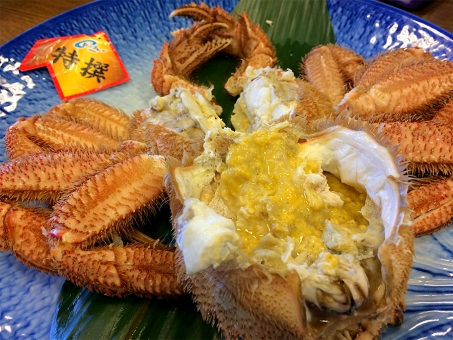 北海道 海の幸 海鮮 毛ガニ 毛蟹 かに 蟹 蟹みそ カニミソ 海鮮丼 新鮮 おいしい 和食 濃厚